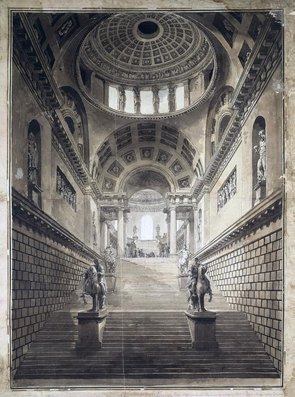 Проект дворца графа Шереметева