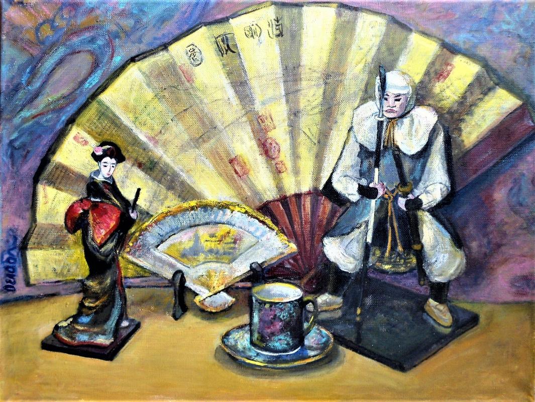 Olga Ogloblina. Japanese souvenirs