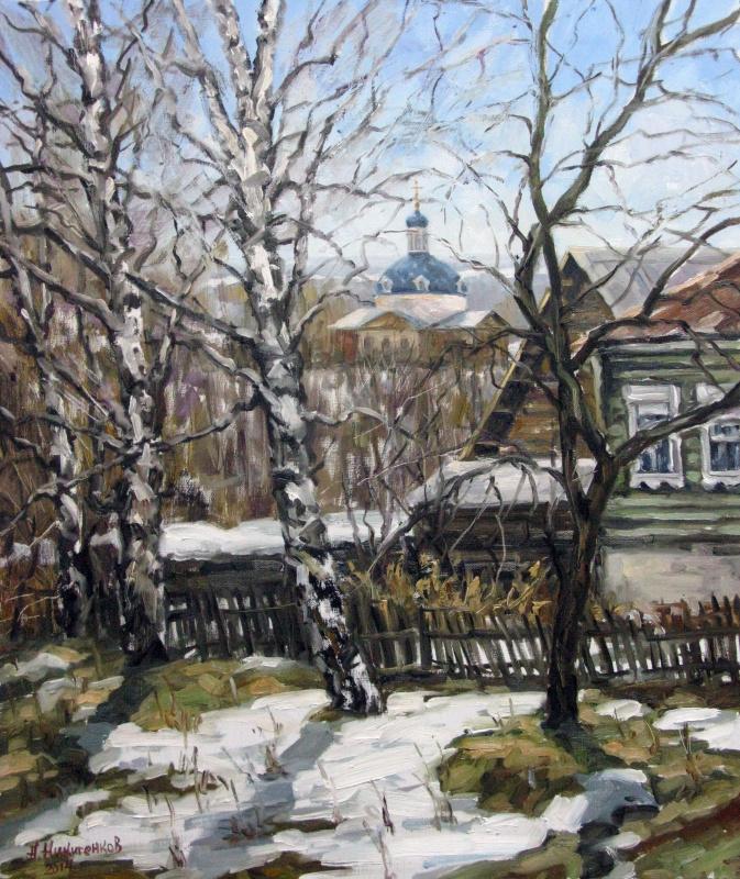 Алексей Никитенков. В Совьяках