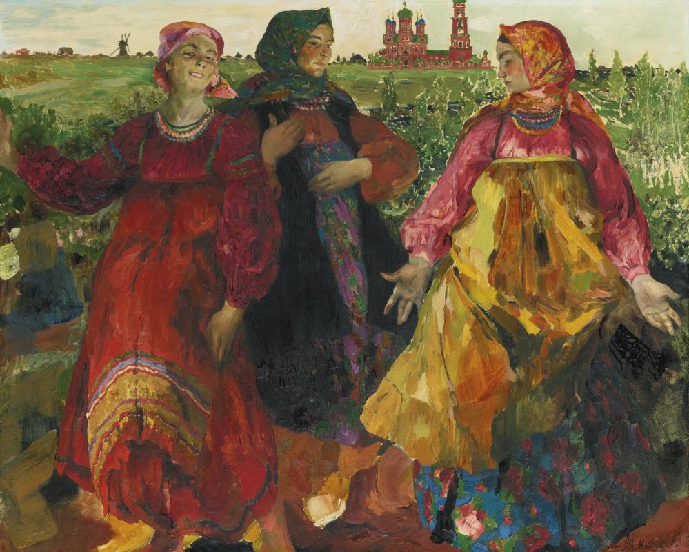Филипп Андреевич Малявин. Три бабы