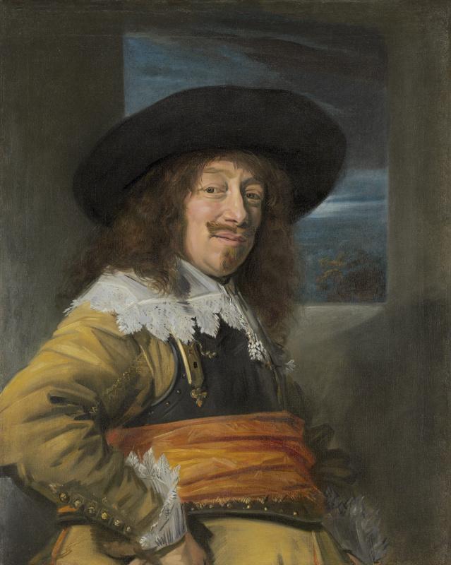 Frans Hals. Portrait of an officer