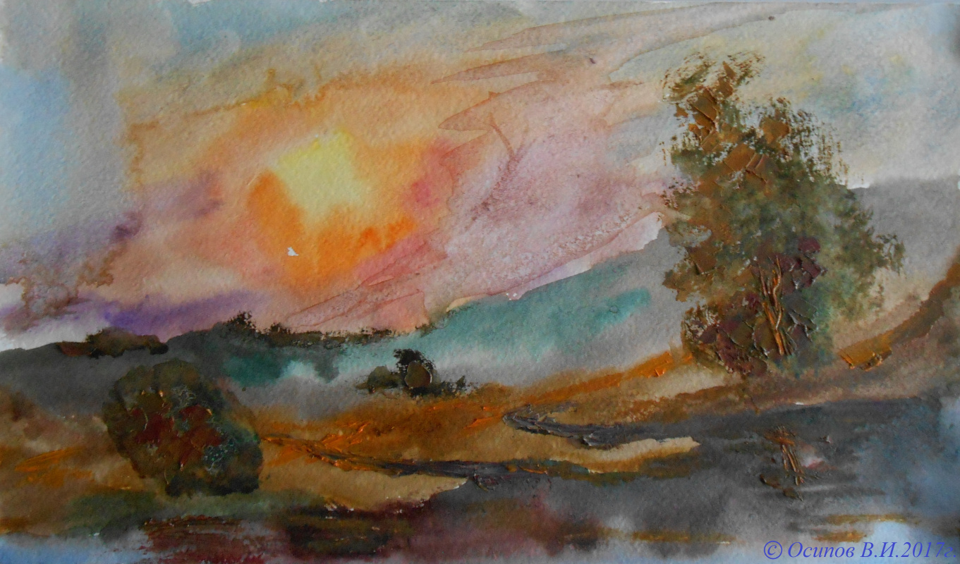 Владимир Иванович Осипов. Chasing the sun