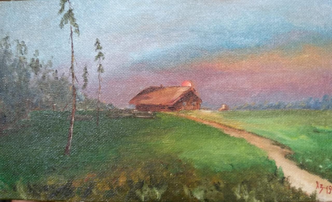 "Сергей Николаевич Ходоренко-Затонский. Landscape ""N"""