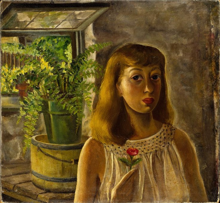 Lee Krasner. Self-portrait