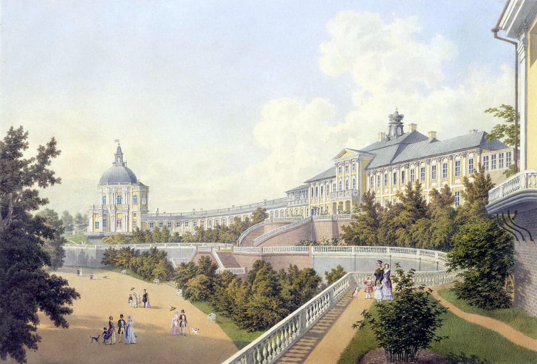 Адольф Андреевич Беземан. Большой дворец в Ораниенбауме