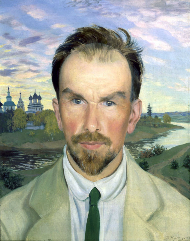 Boris Mikhailovich Kustodiev. Portrait Of Alexander Ivanovich Anisimov