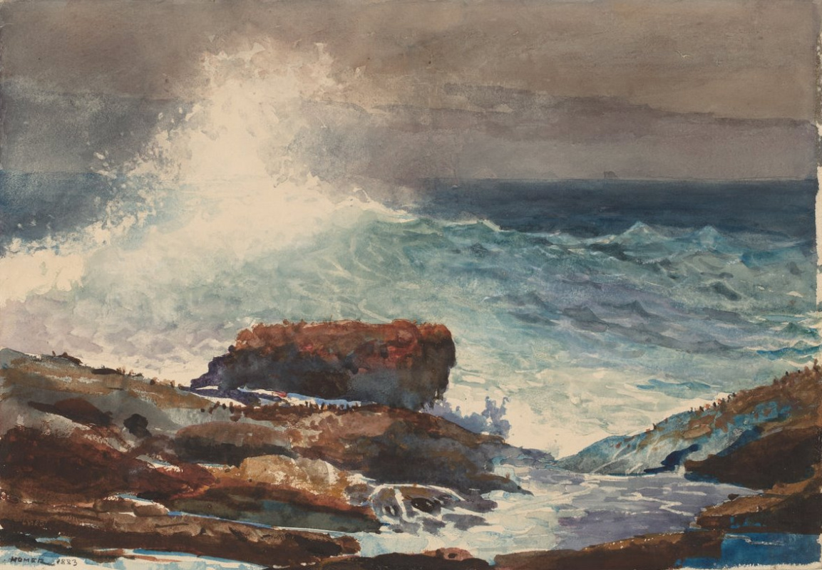 Winslow Homer. Tide. Scarborough, Maine