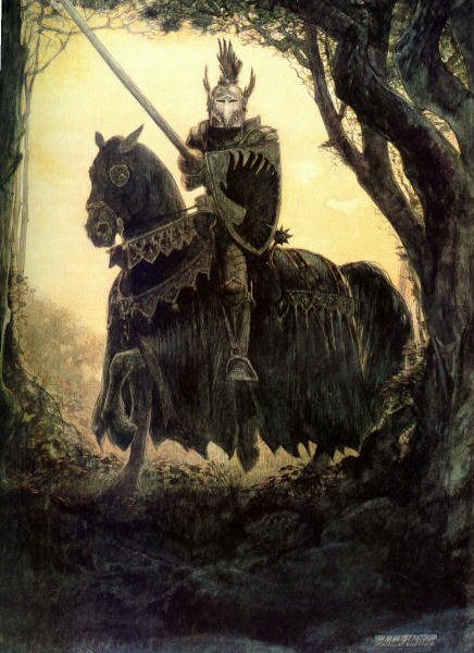 Юлек Хеллер. Черный рыцарь