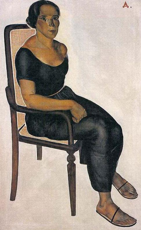 Александр Александрович Дейнека. Девушка на стуле