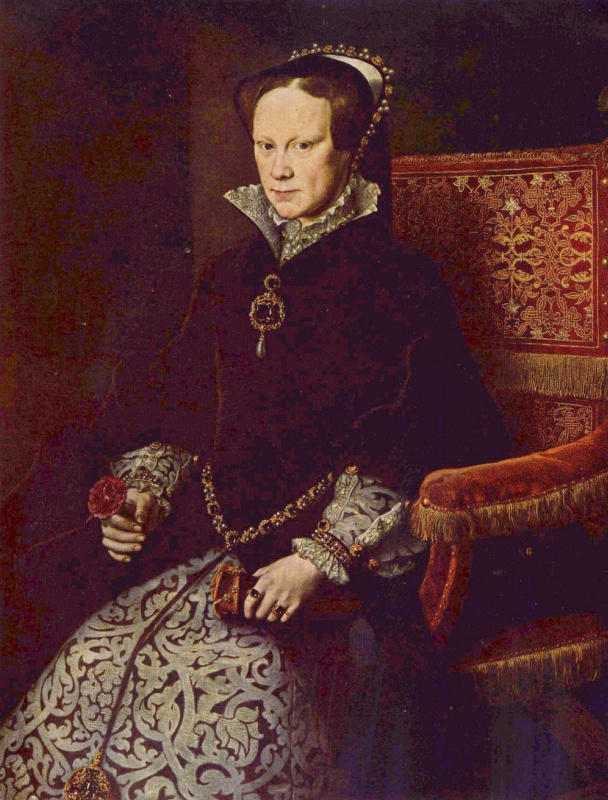 Антонис ван Дасхорст Мор. Королева Мария Английская