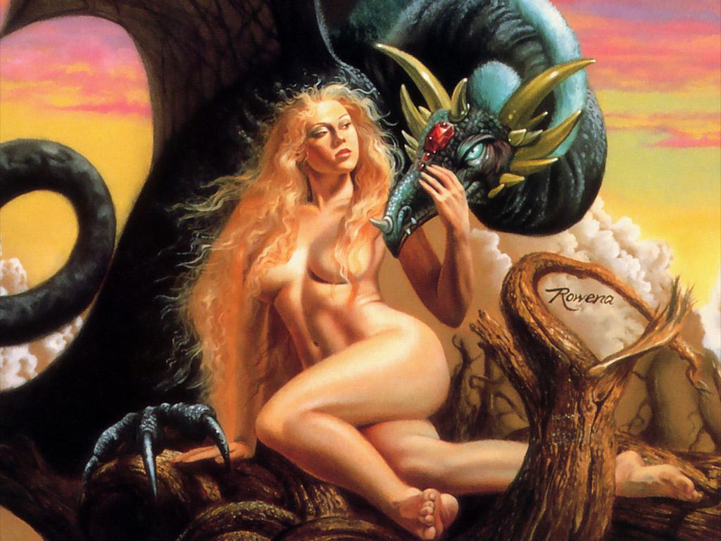 Rowena Morrill. Fantasy 30