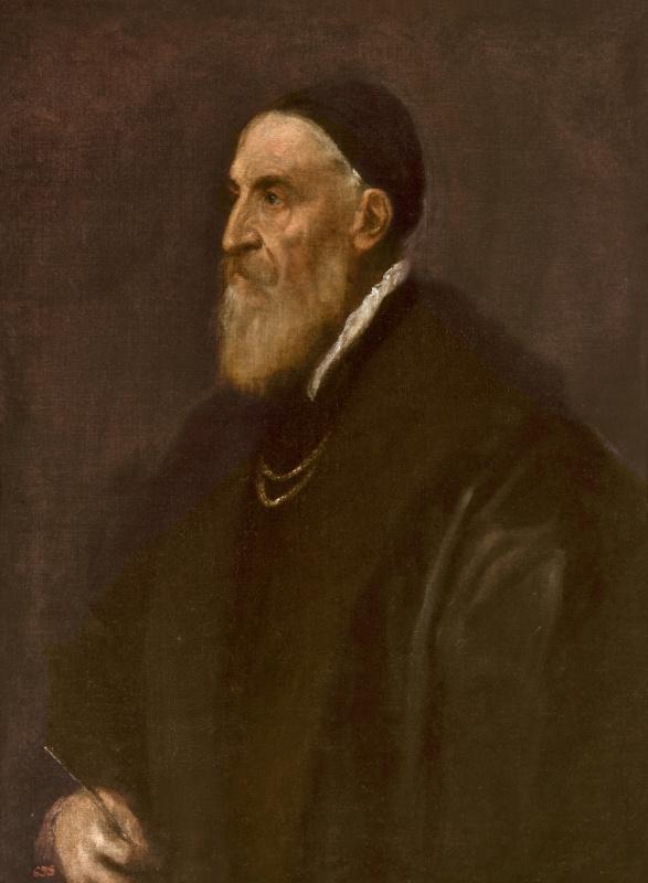 Тициан Вечеллио. Автопортрет