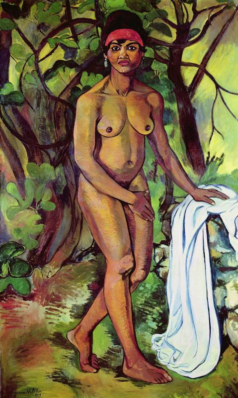 Сюзанна Валадон. Чернокожая Венера