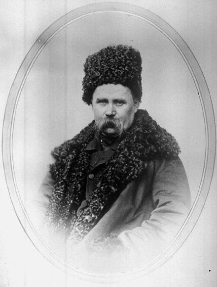 Андрей Иванович Деньер. Портрет Тараса Григорьевича Шевченко