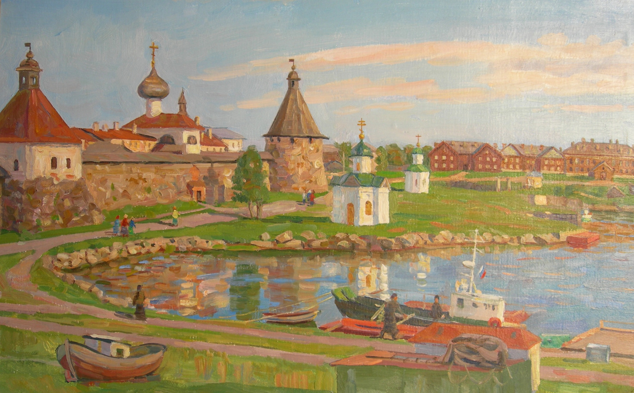 Eugene Alexandrovich Kazantsev. Harbor of Wellbeing. Solovki.