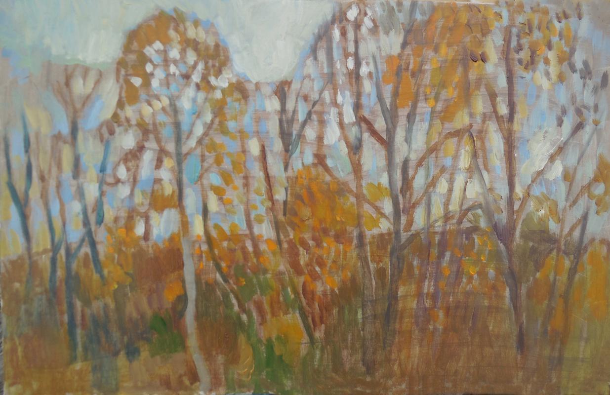 STAS VOROUS. Autumn sketch