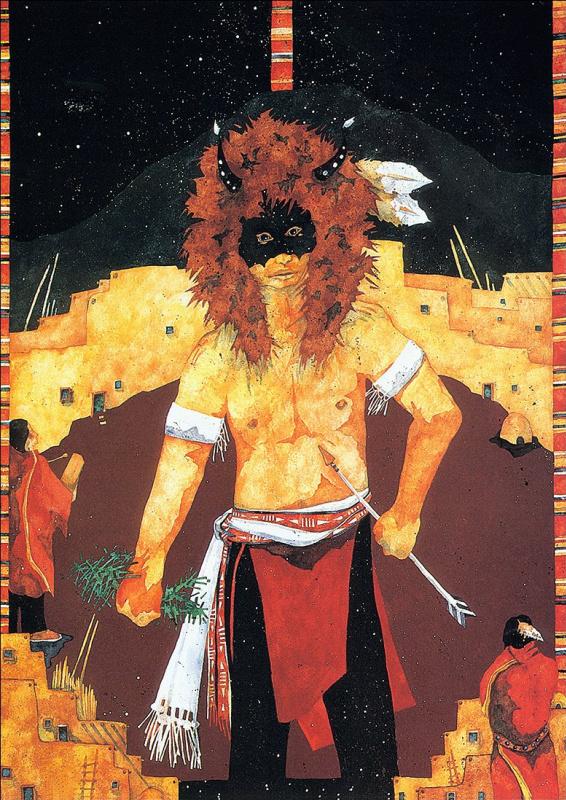 Кэрол Боулз. Танец буйвола у красной ивы
