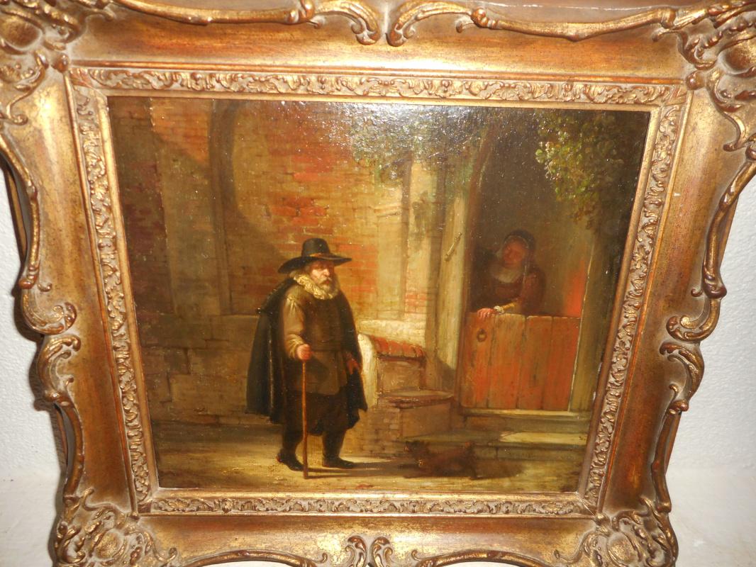 "Willem Jodocus Engelberts 1809-1887. ""Student"""