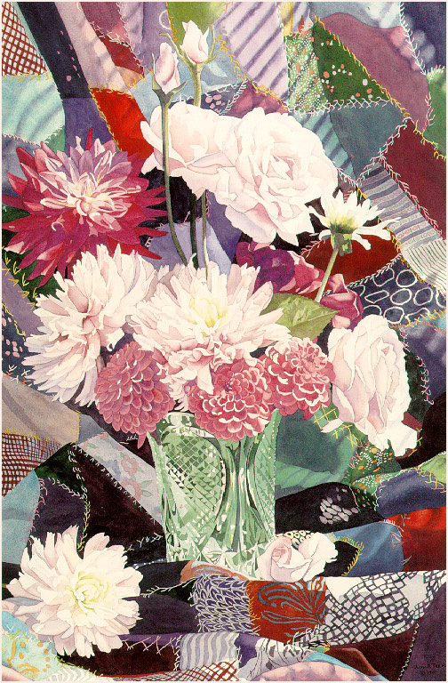Джуди Треман. Цветы