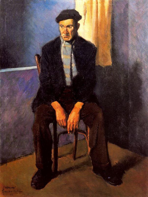 Франсиско Себастьян. Мужчина на стуле