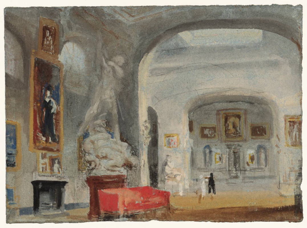 Joseph Mallord William Turner. North gallery