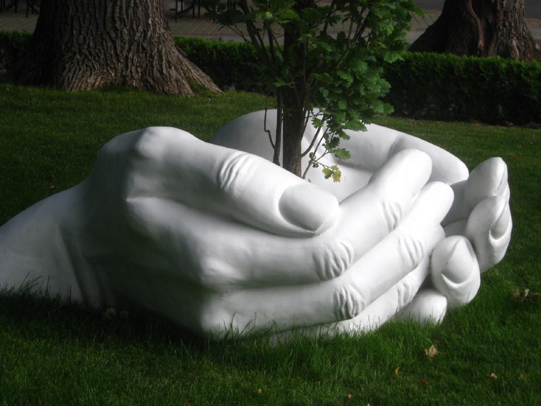 """Alexey Grishankov (Alegri). """"Human hands"""""""