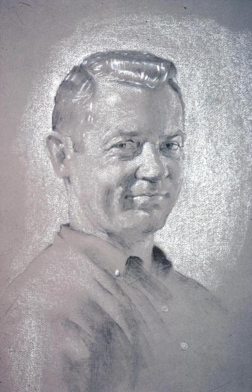 Дэвид Харди. Портрет мужчины