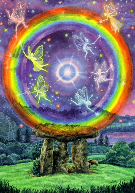 Создание радужной магии