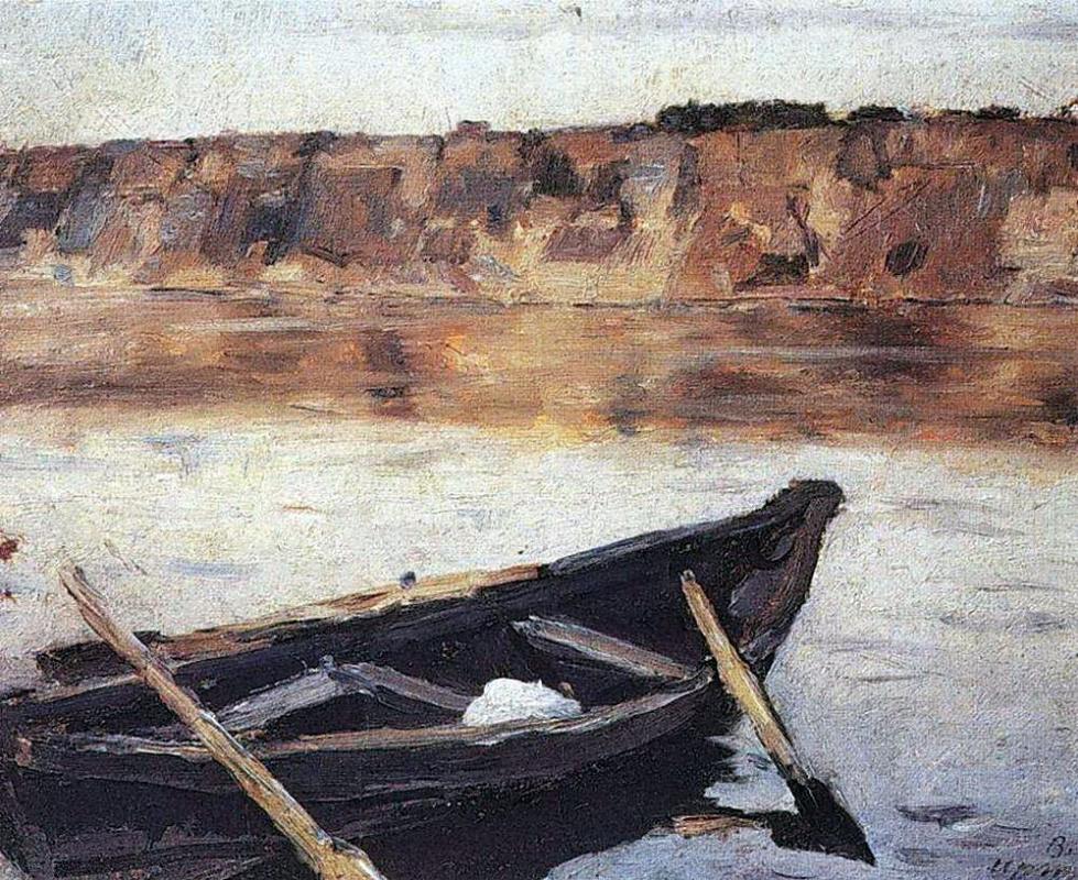Василий Иванович Суриков. Иртыш