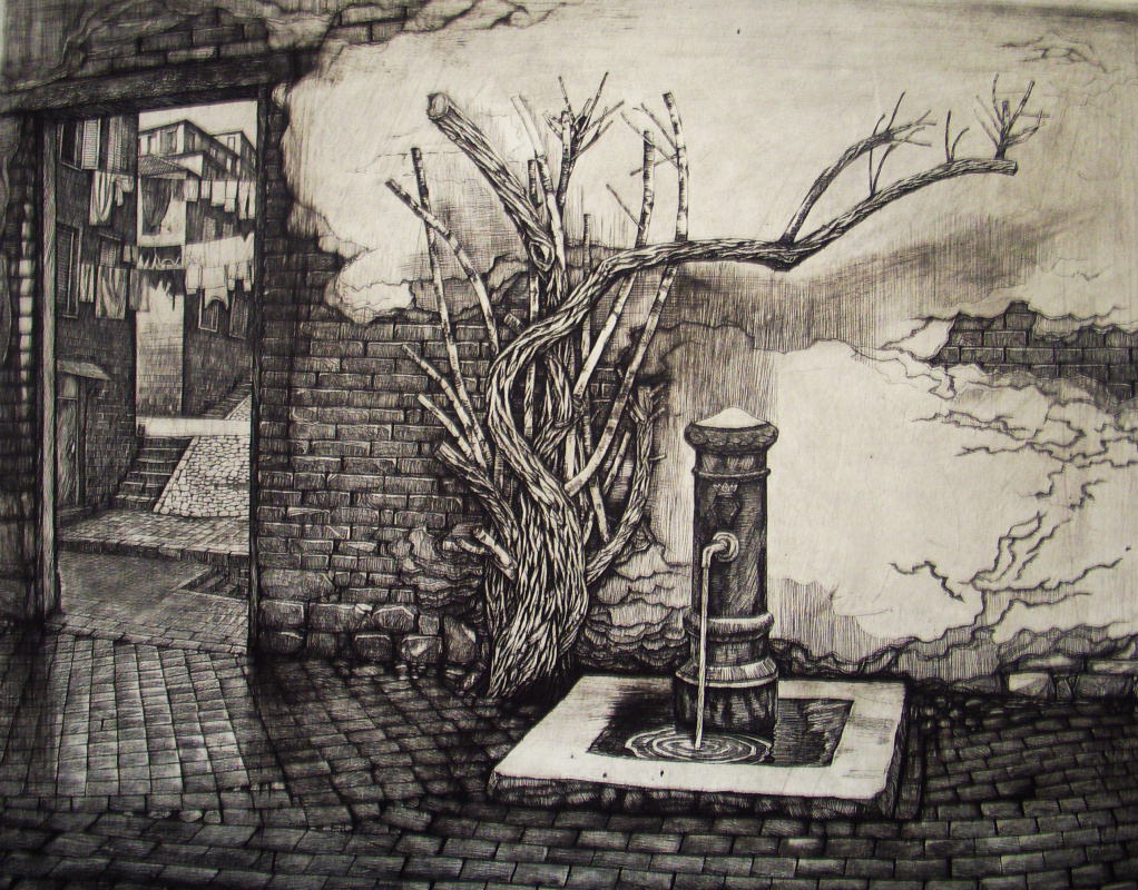 Anatoly Yaroslavtsev. Roman courtyard