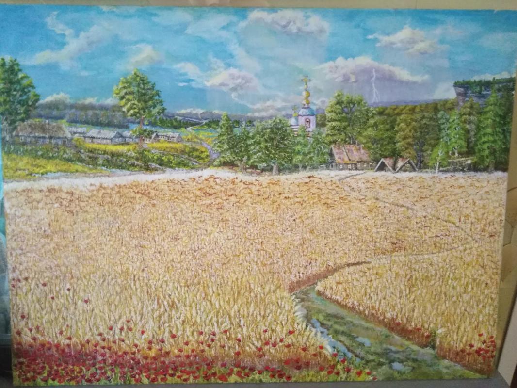 Vladimir Mikhailovich Korovin. Landscape