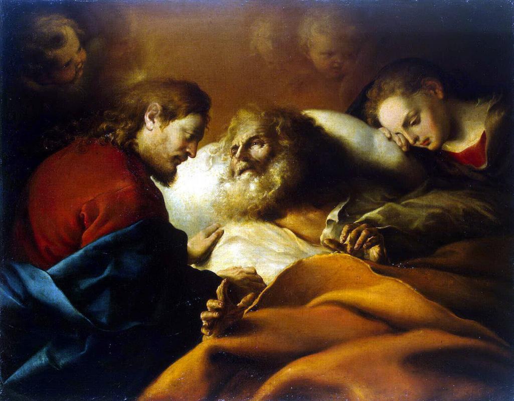 Алонсо Кано. Смерть Святого Иосифа