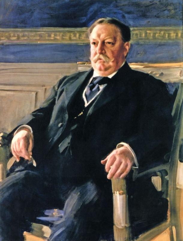 Андерс Цорн. Президент США Вильям Говард Тафт