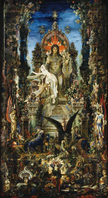 Gustave Moreau. Jupiter and Semela