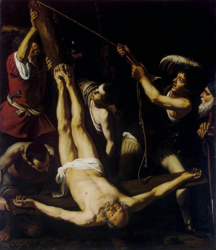 Лионелло Спада. Мучение апостола Петра