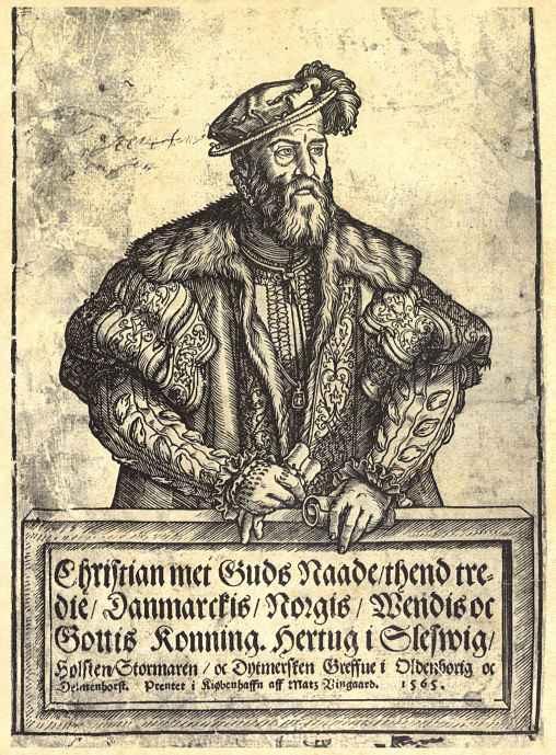 Мадс Вингард. Король Дании Кристиан III