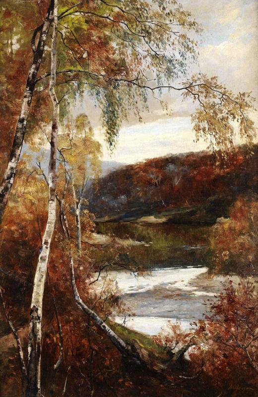 Андрей Николаевич Шильдер. Осень
