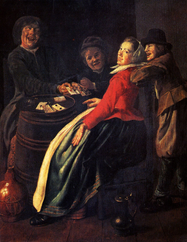 Judith Leyster. Playing cards