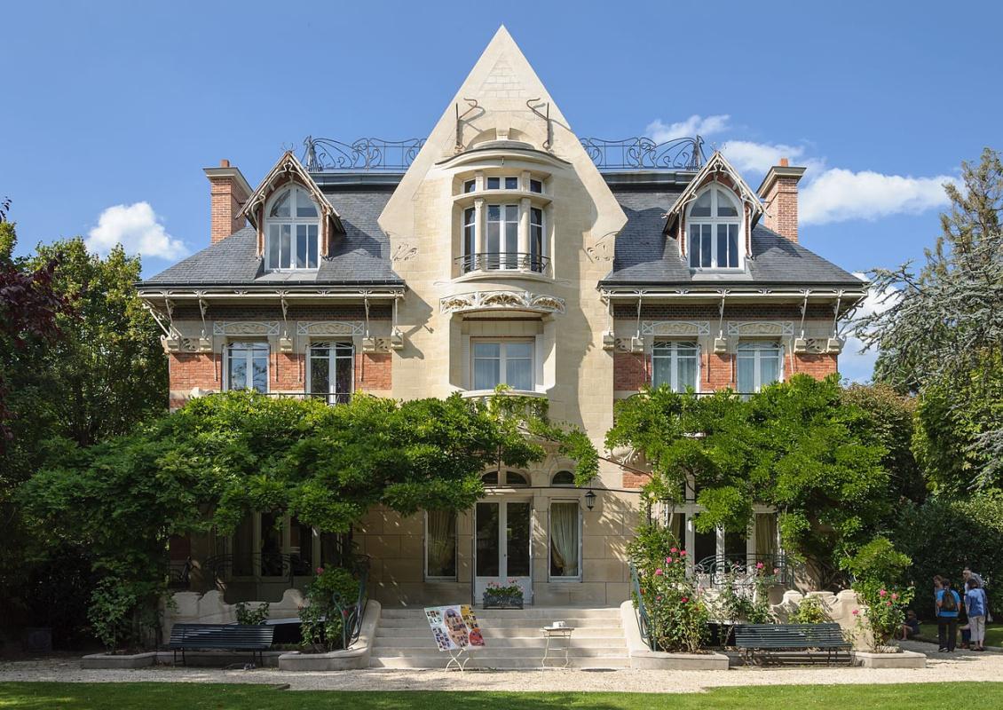 Hector Guimard. Villa Bert, Saint Germain