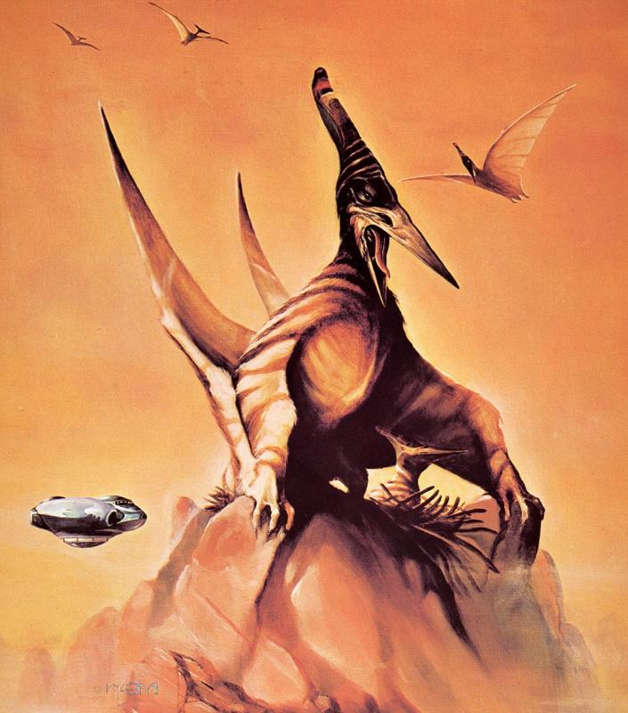 Мэлвин Грант. Планета динозавров