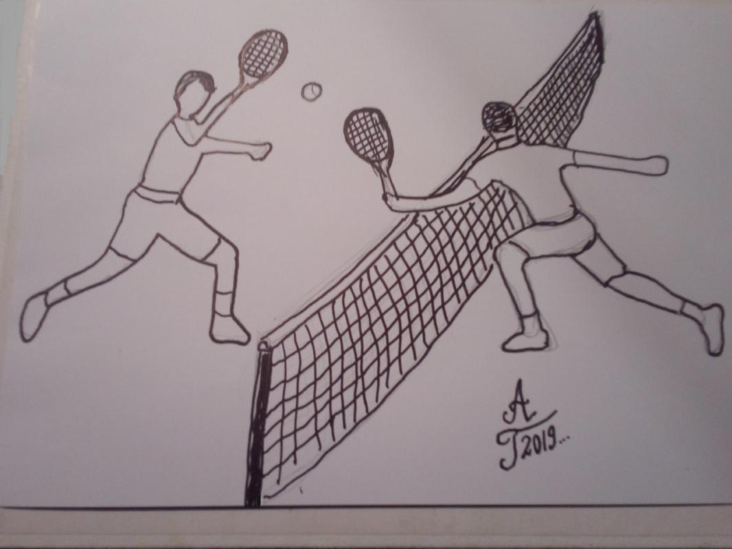 """Алексей Гришанков (Alegri). """"Tennis"""""""