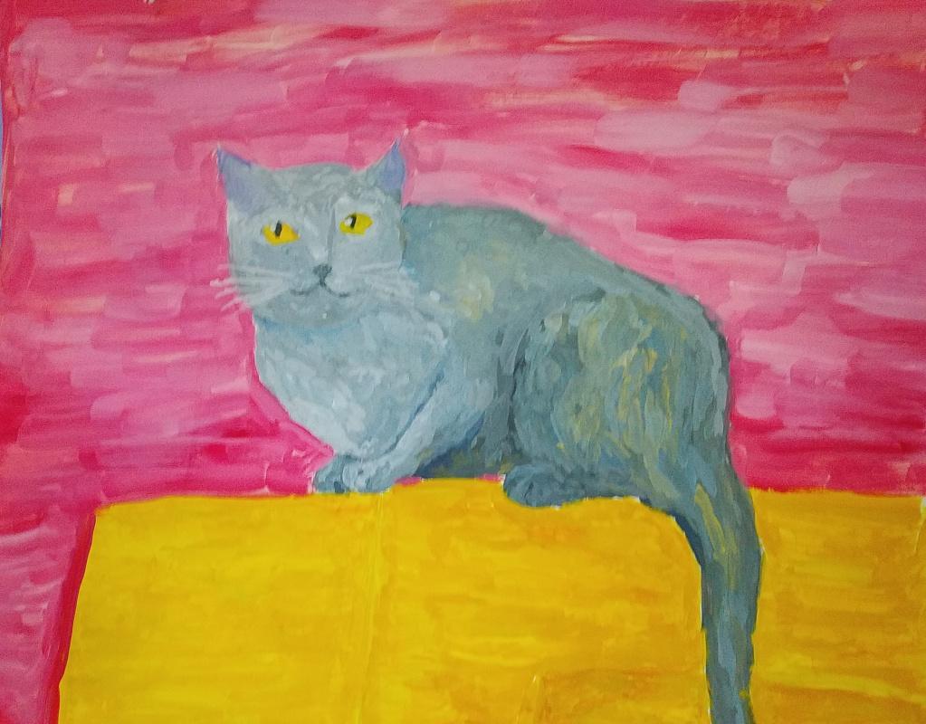 Zina Vladimirovna Parisva. Cat 2