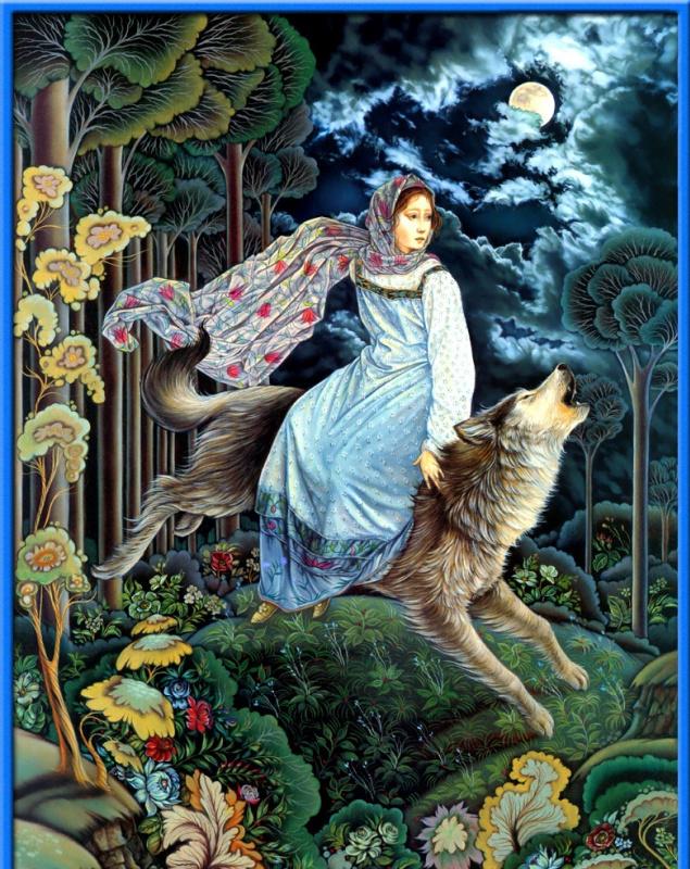 Лорел Лонг. Волк
