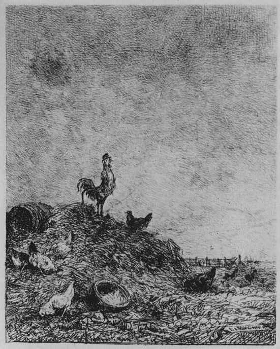 Шарль-Франсуа Добиньи. Восход солнца