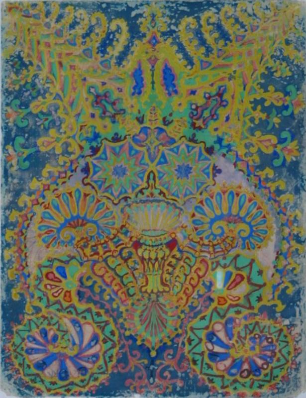 Louis Wain. Cat Kaleidoscope VII