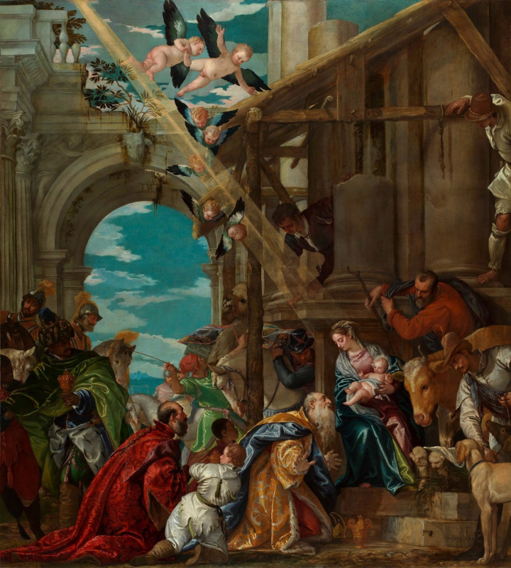 Paolo Veronese. Worship of kings