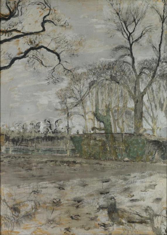 Жан Эдуар Вюйар. Зимний сад (незаконченная)
