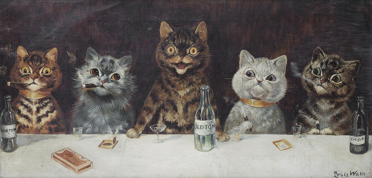 Louis Wain. Stag