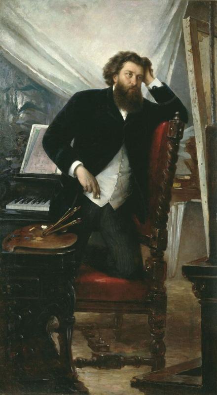 Портрет художника К. Н. Воронова