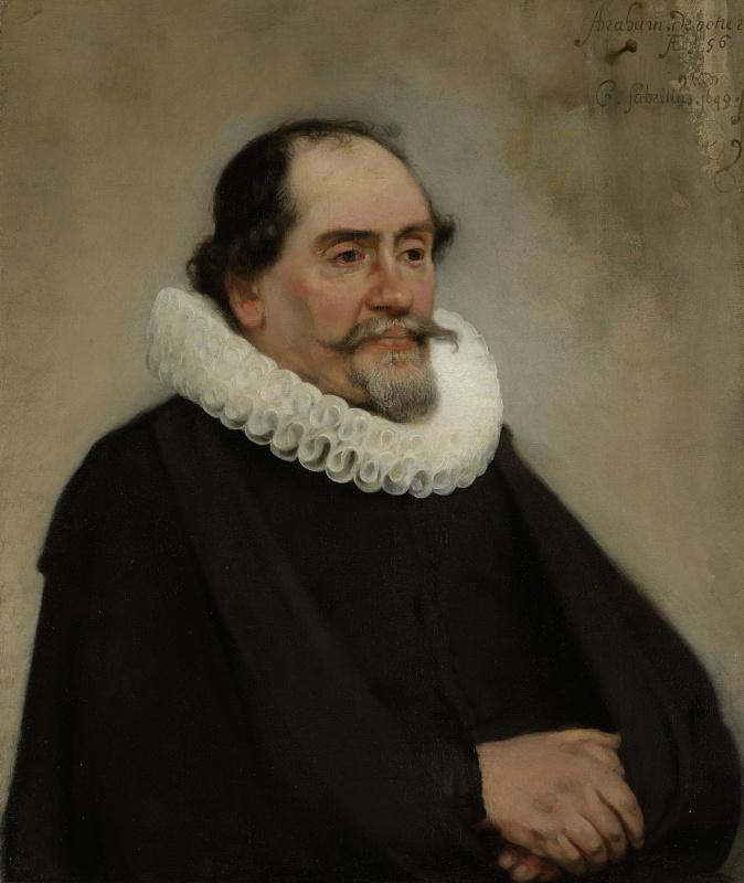 Karel Fabricius. Abraham de Potter, a silk merchant in Amsterdam